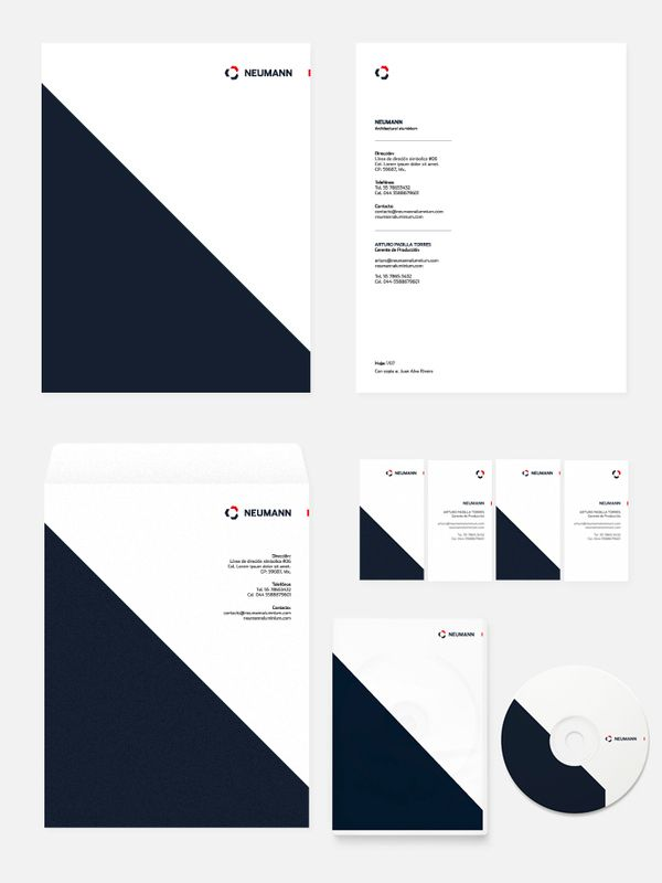 Neumann by Icono Seis , via Behance