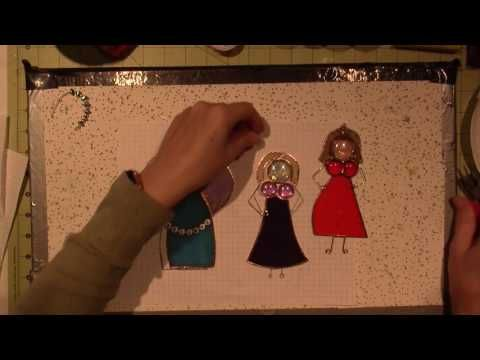 Stained Glass Ladies; Part 1 - YouTube