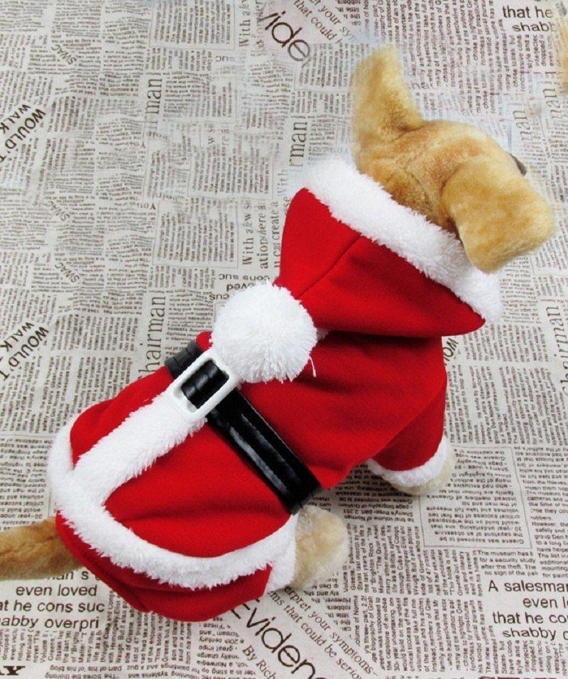 2e050bd5220 Dog Christmas Costume Santa Pet Jumpsuit Dog Coat | Dogs Pet ...
