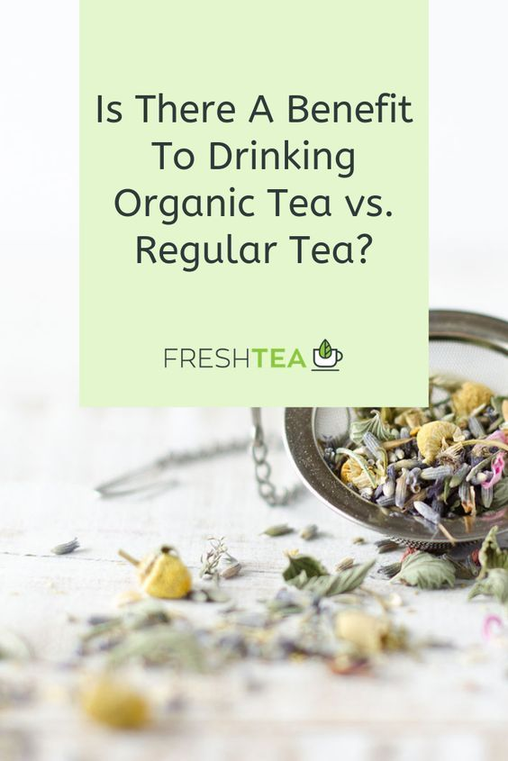 When it comes down to what is considered organic vs. regular, it's all about how the leaves, spices, and herbs are grown, collected and processed during the journey from farm to the consumer's teapot. Let's take a look at the situation and see if there is a difference when it comes to drinking organic tea. #freshtea #teaparty #partea #drinktea #tea #tealover #teatime #blacktea #cupoftea #hottea #popularteas #looseleaf #teabags #brewtea