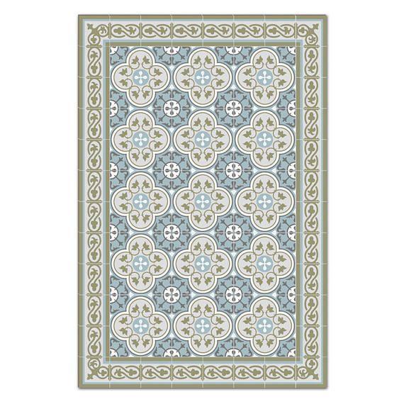 Mat Floor Rug Kitchen Décor Rustic Decorative Tiles