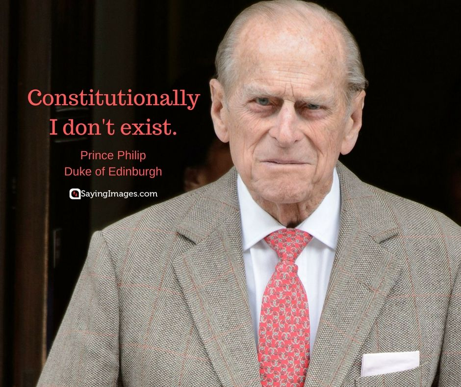Prince Philip Quotes Fascinating Prince Philip Quotes His Famous Comments And Clangers  Prince Philip Review