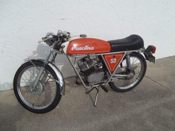 vintage mopeds for sale | 1964 paloma 50 for sale left | bicycles