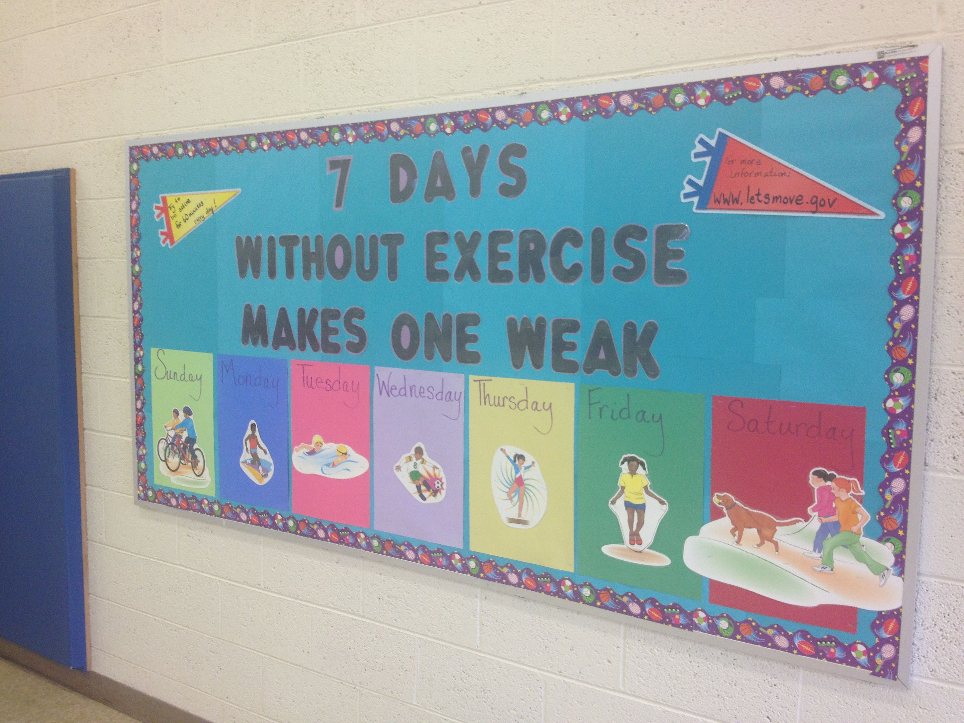 7 Days Without Exercise Makes One Weak