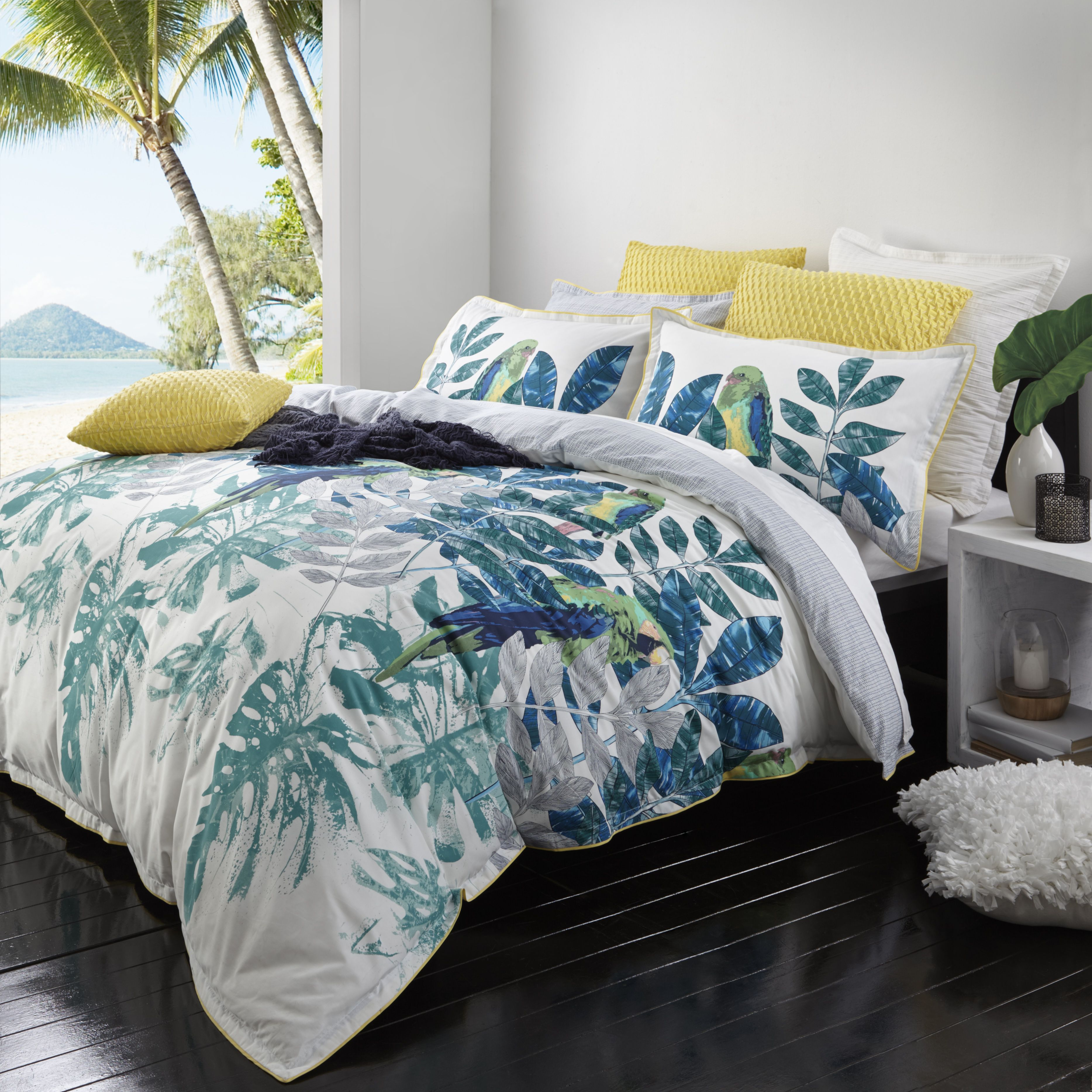 Daintree Fern by Logan & Mason. Available in queen and
