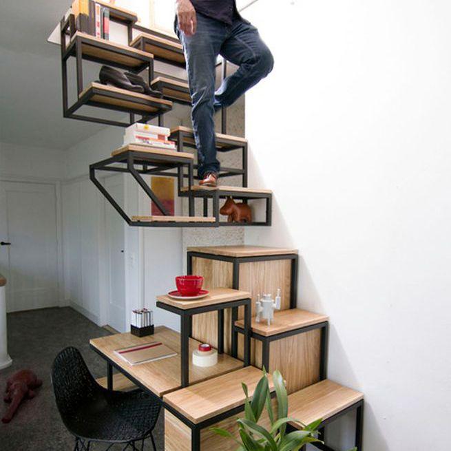 Escalier Suspendu Rangement | Escaliers | Pinterest | Escalier