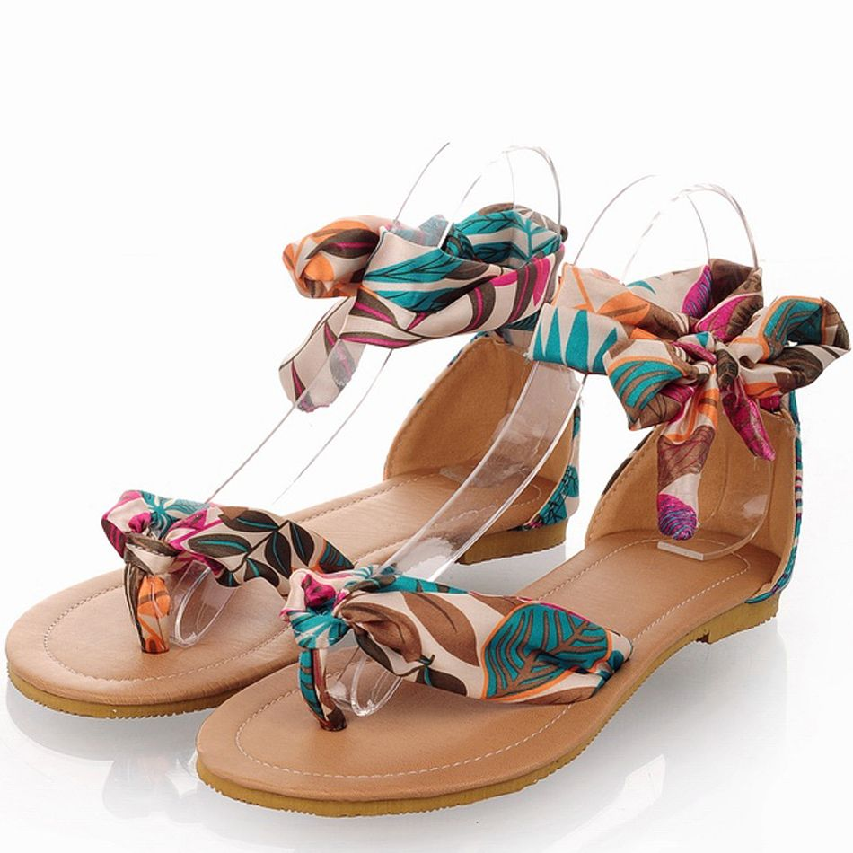 bf980ef18f9 Lowest Price Colorful Flats for Women Summer Sandals 34-43 Big Size Girls  Leisure Shoes Fashion Party Shoes Top Quality  19.99 - 21.99