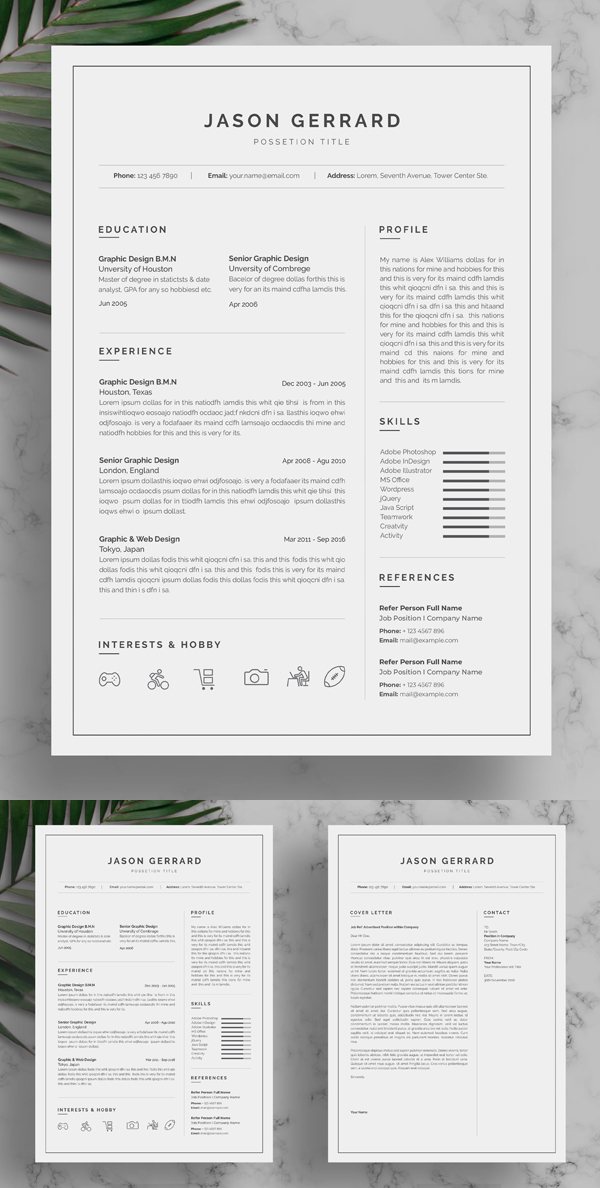 Perfect Resume Template in 2020 Resume template, Resume