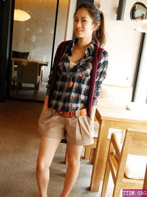 Khaki Shorts! | My Style | Pinterest | Khaki shorts, Khakis and Plaid