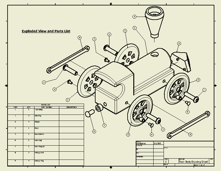 universal coupling assembly drawing pdf