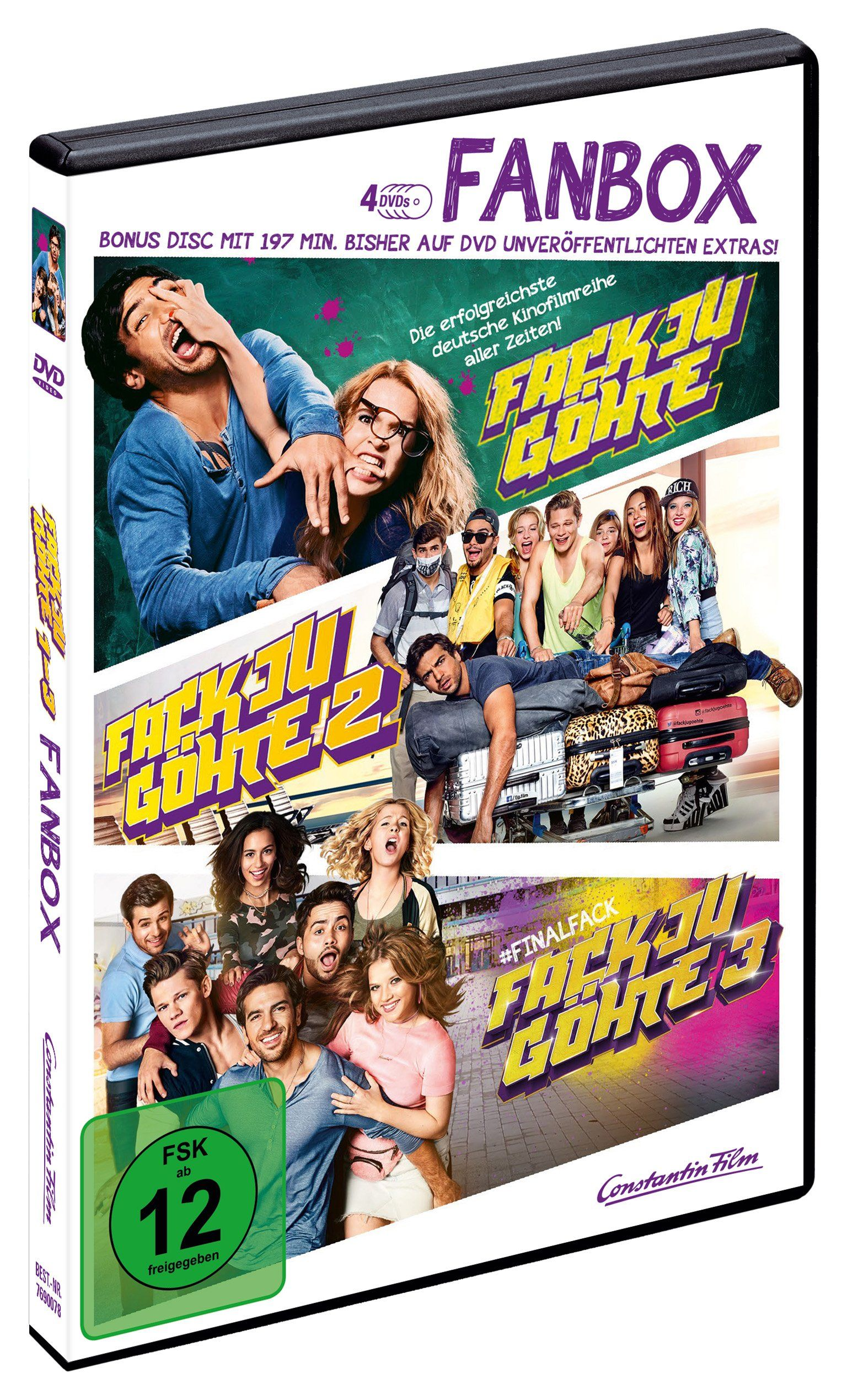 Fack Ju Ga Hte 1 3 Fanbox Alemania Dvd Ad Hte Ju Fack Dvd Dvd Fan Bilder
