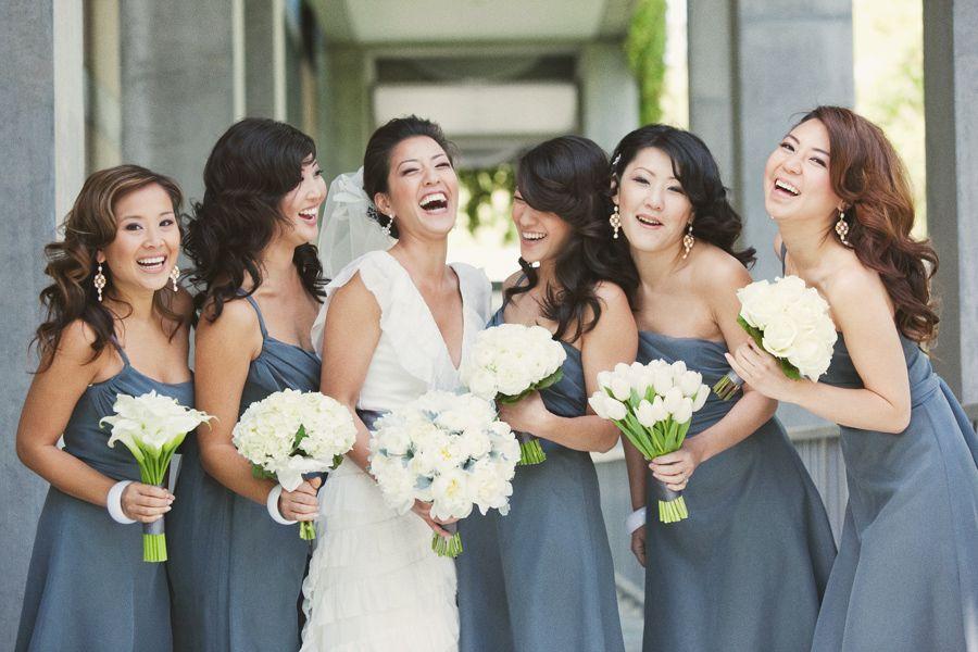 Mismatched Bridesmaid Accessories Part 1 Bouquets