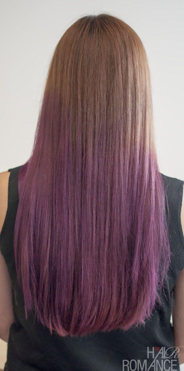 Add Black Tipake The Purple More Vibrant And There Ya Go