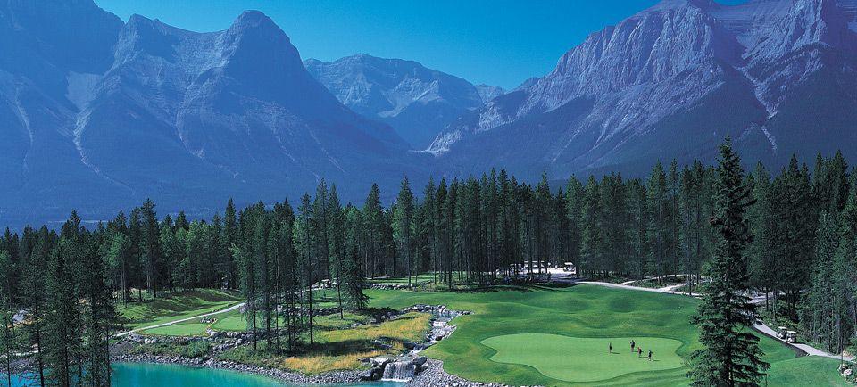 Silvertip Golf Course Canmore Alberta Canada Near Banff
