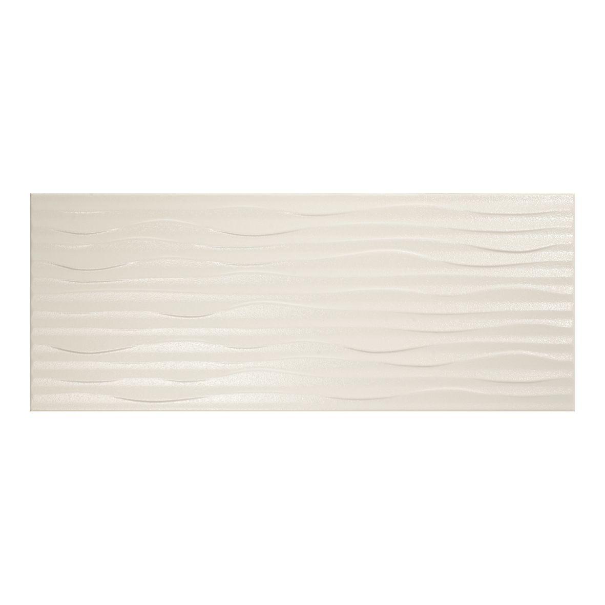 Kitchen Wall Tiles Ivory: Mapisa Armonia Ivory Ribbed Bathroom & Kitchen Wall Tiles