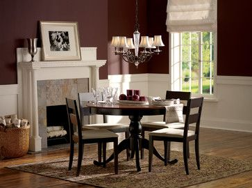 Dining Room Decorating Ideas On A Budget   Maroon Wall Design Ideas ...