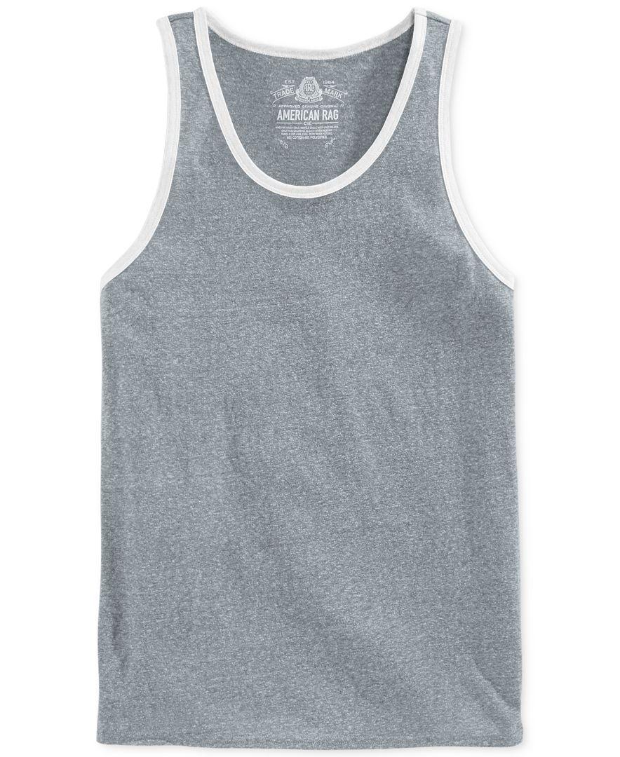 White apron macy's - American Rag Solid Tank T Shirts Men Macy S