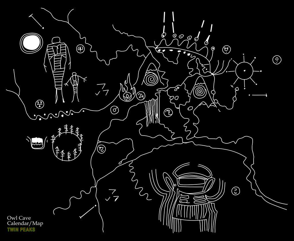 Afbeeldingsresultaat voor owl cave drawing?