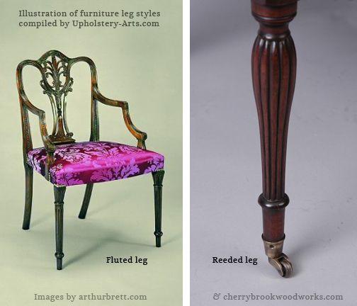 Fluted Reeded Leg Examples Arthurbrett