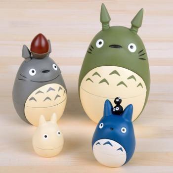Studio Ghibli Popular ranking Totoro Music Box Totoro Matryoshka  Collective Edition Balance Figur...