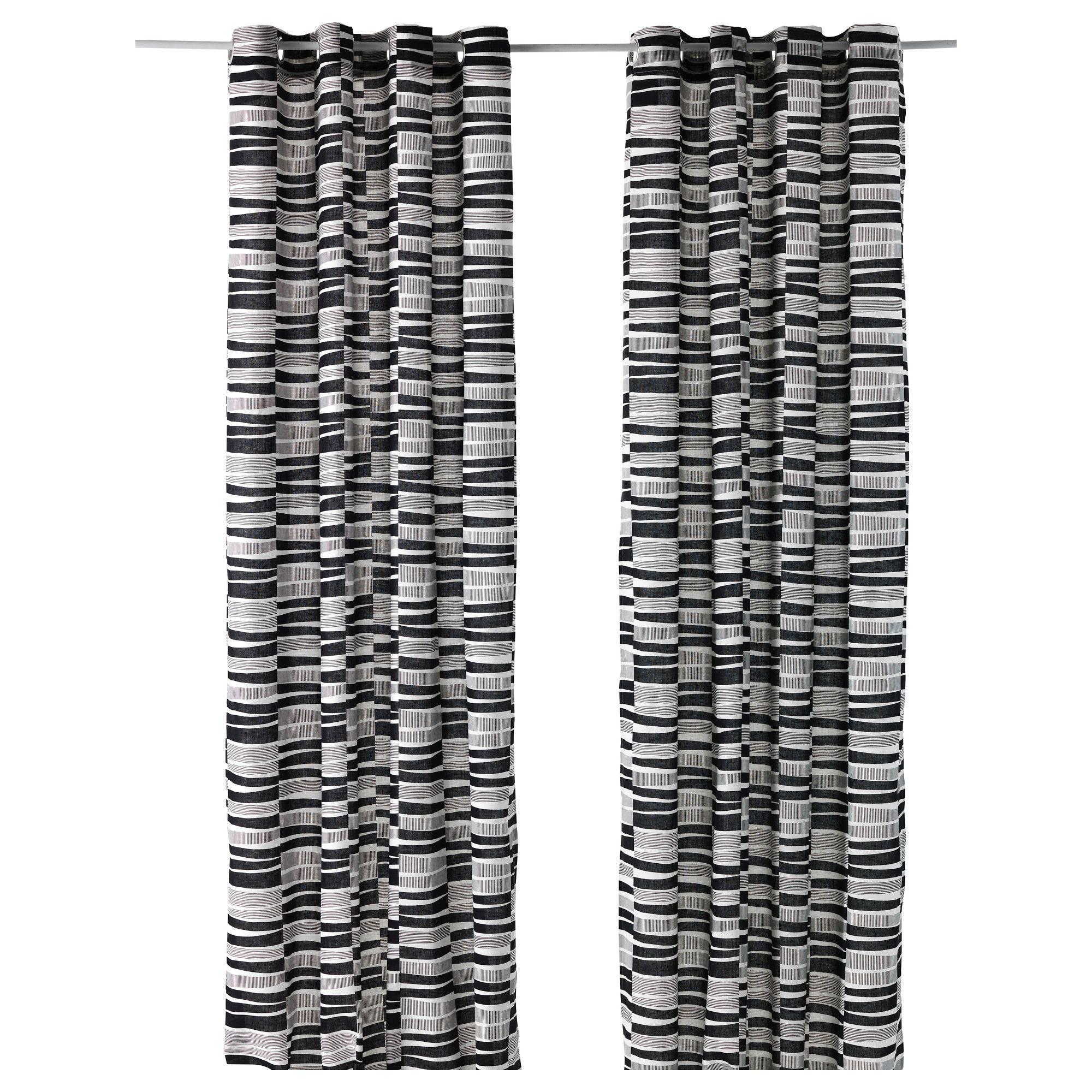 lappljung rand 1 paire de rideaux ikea interior textile pinterest rideaux ikea et ikea. Black Bedroom Furniture Sets. Home Design Ideas