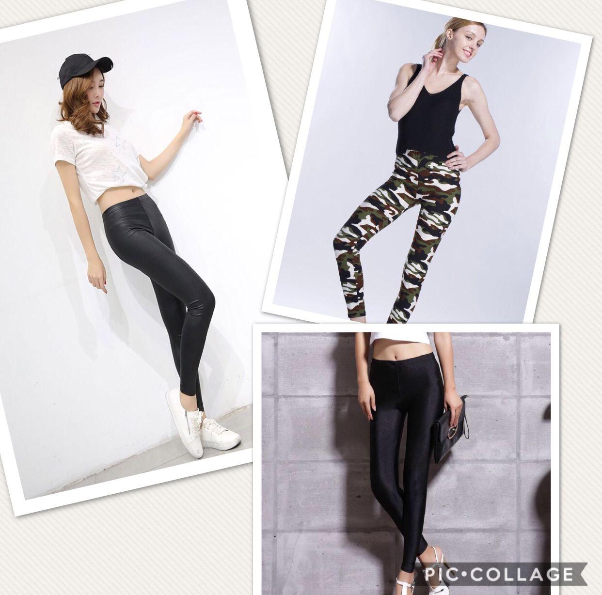 b86f09bd462d3 Gorgeous sexy slim fit leggings, black leggings, camo leggings. Stretchy  and elastic.