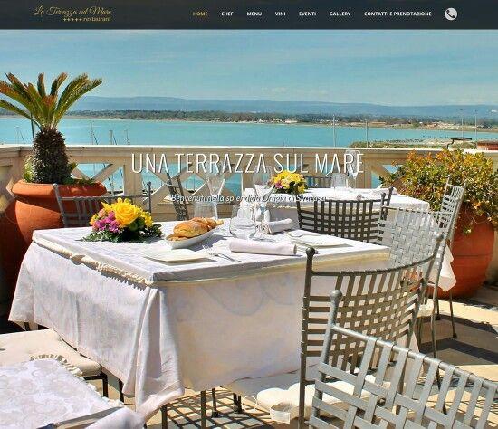 Realizzato sito web per il ristorante La Terrazza Sul Mare