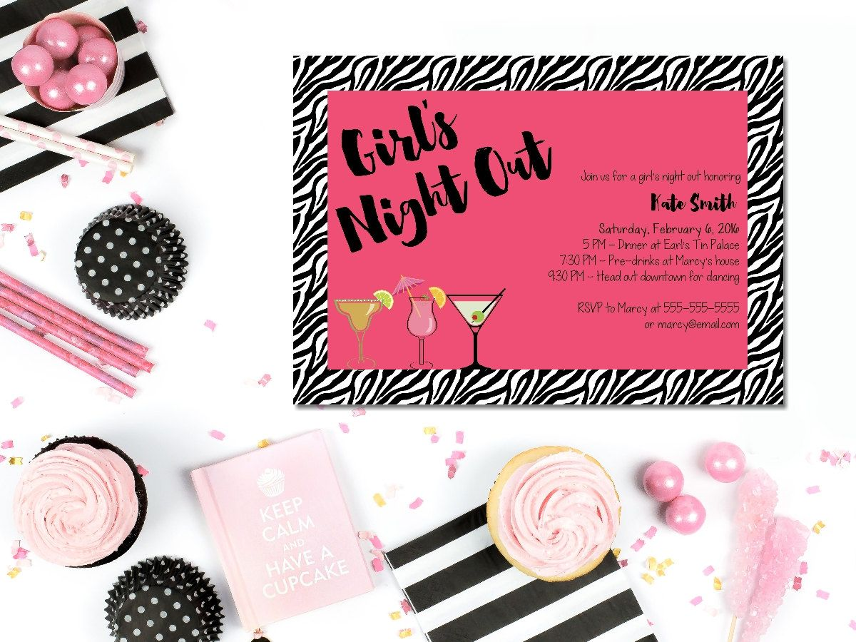 printable last fling bachelorette invitation / printable, Party invitations