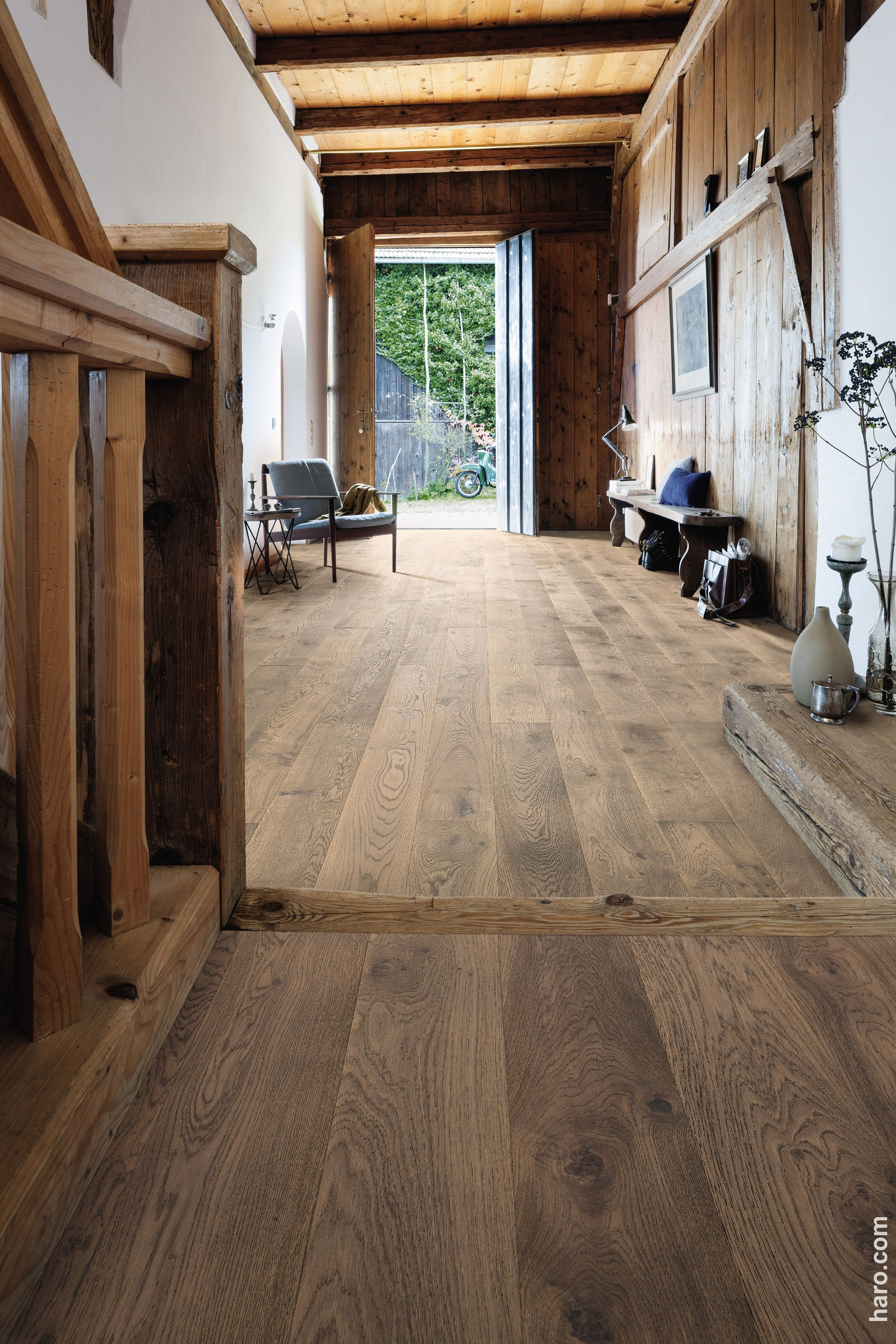 Fliesen in Holzoptik moderne Alternative