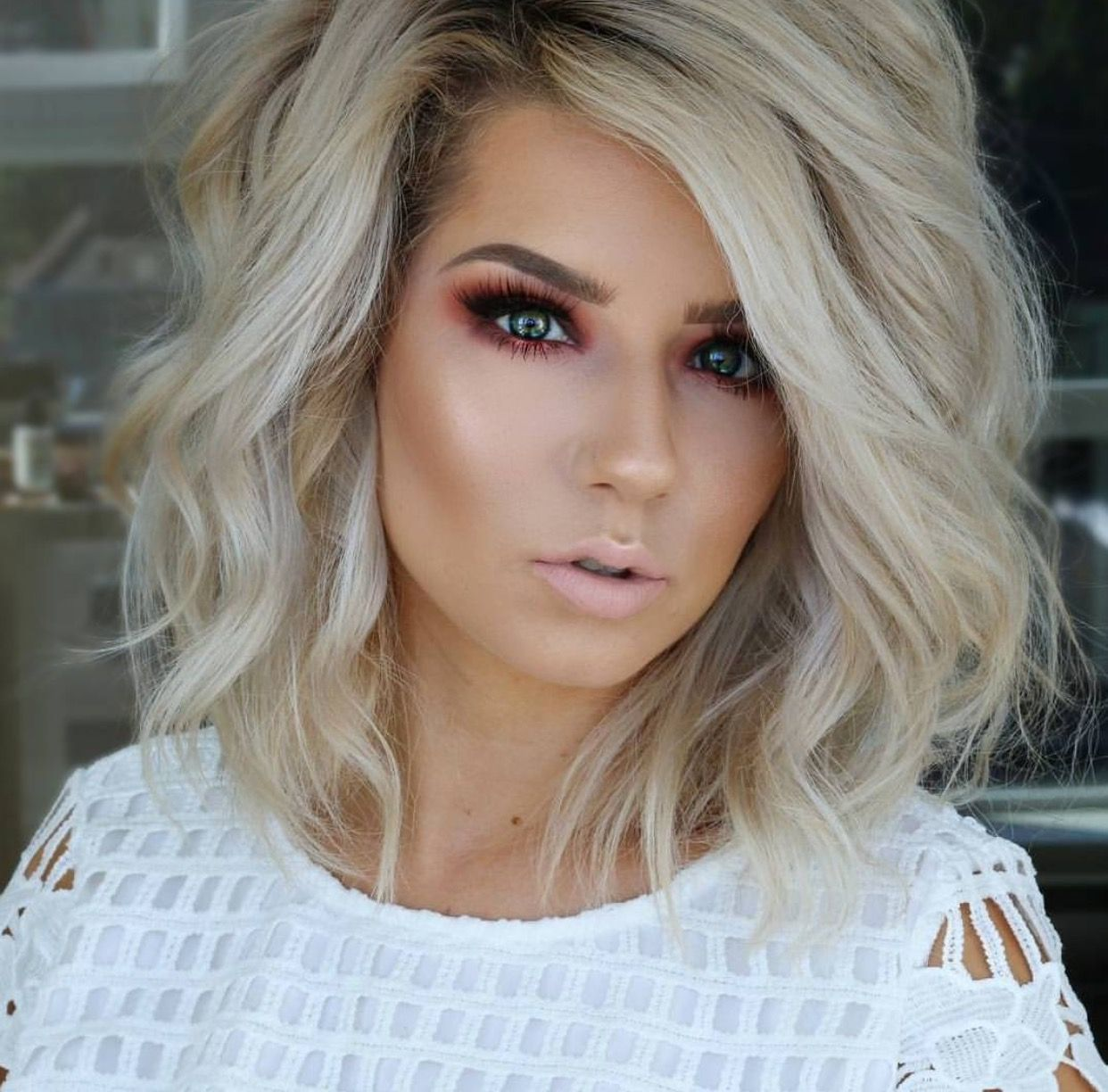 Like The Style But I D Go Dark Hair In 2020 Hair Styles Short Hair Styles Curly Hair Styles
