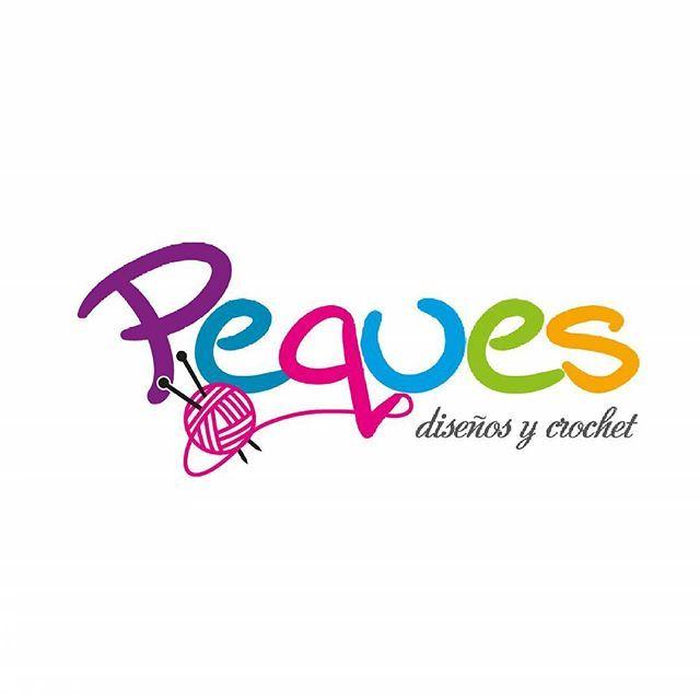 Diseño de logotipo | Peques Diseños y Crochet #disenografico #diseño ...
