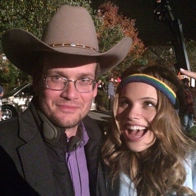 @johngreenwritesbooks : Inexplicable cowboy hat and @halstonsage.