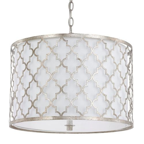 Kitchen Drum Light Large Island With Seating Capital Lighting Fixture Company Ellis Antique Silver Three Pendant Ceiling
