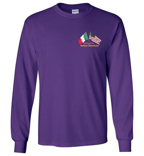 Proud to be an Italian American Unisex Long Sleeve T-Shirt