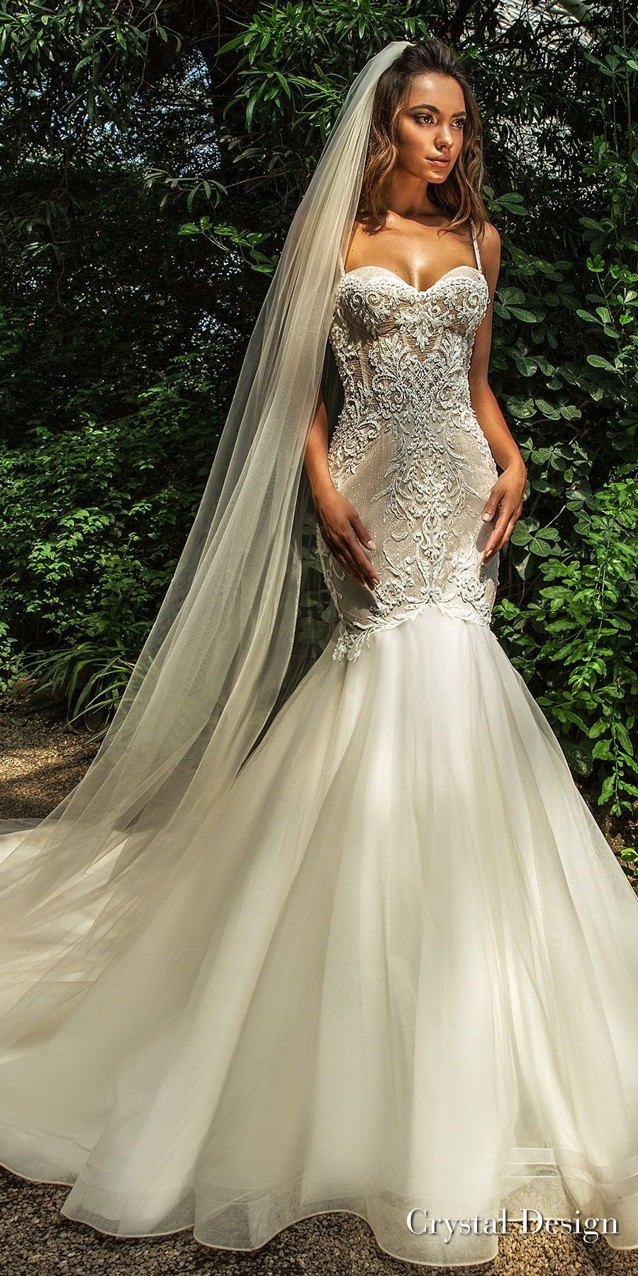 Dress for destination beach wedding guest  Crystal Design  Wedding Dresses u ucRoyal Gardenud u Haute Couture