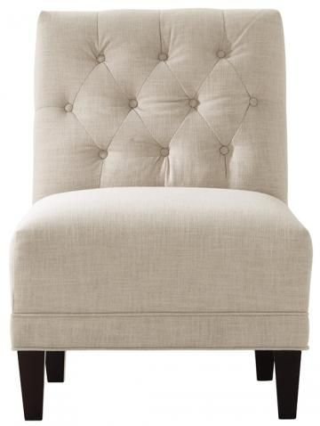 Lakewood Tufted Armless Chair from Home Decorators christensons