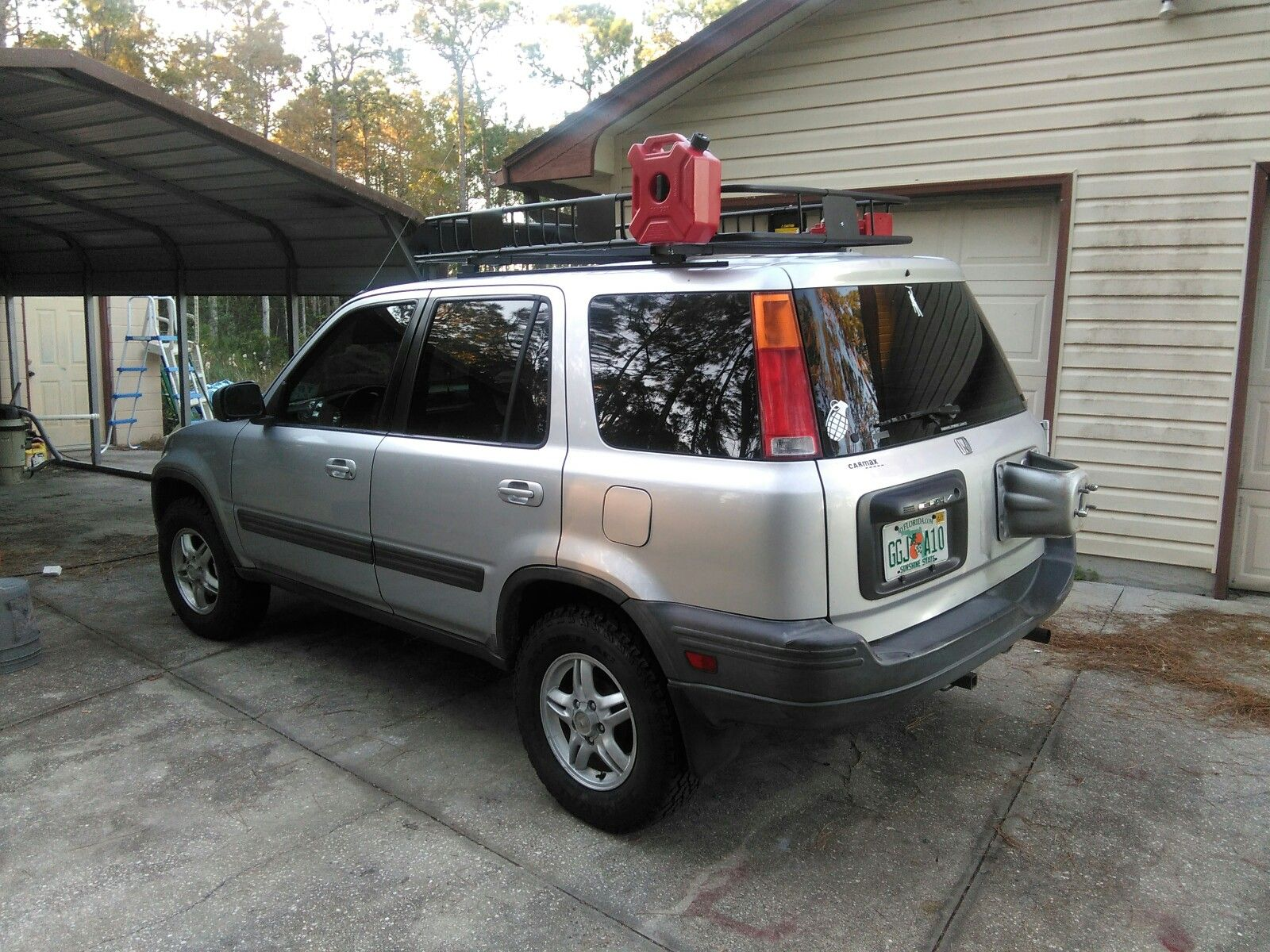 99 Honda Crv, Custom Spring Spacer Lift, Roof Rack, Snorkel And A Bunch