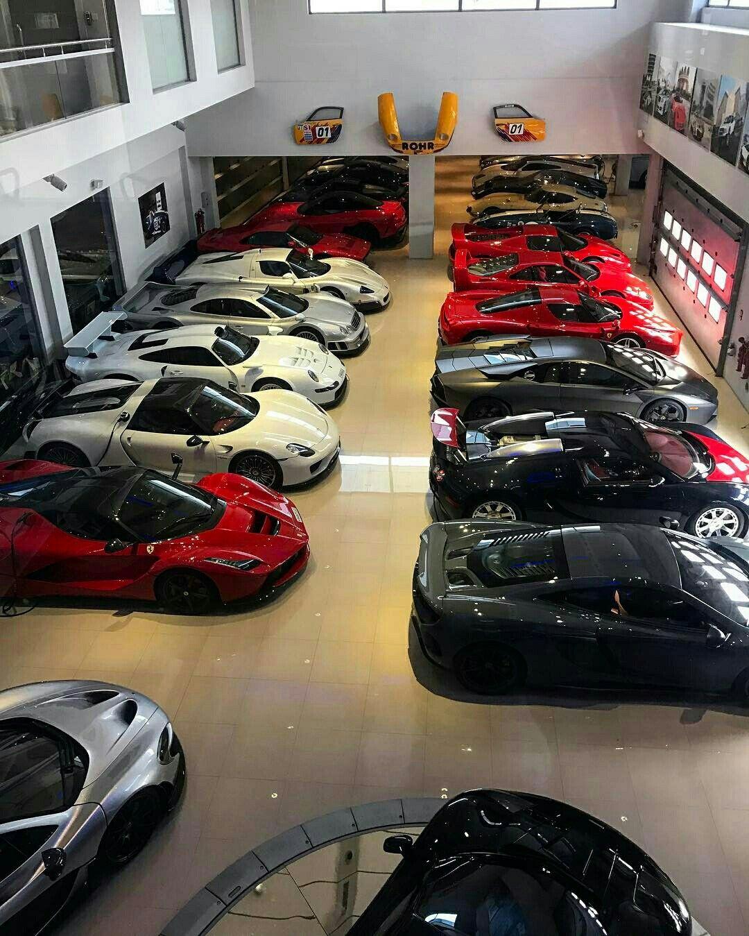 Dream Garage Luxury Car Garage Sports Cars Luxury Rich Cars