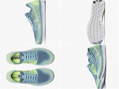 a5f4f50b524f Nike Free RN Flyknit 2018 Womens Running Shoe Blue Moon Mica Blue Ghost  Green White 880844