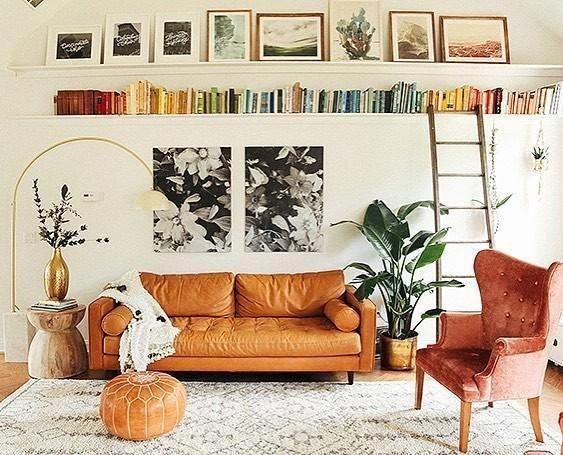 Photo of Sven Charme Tan Sofa