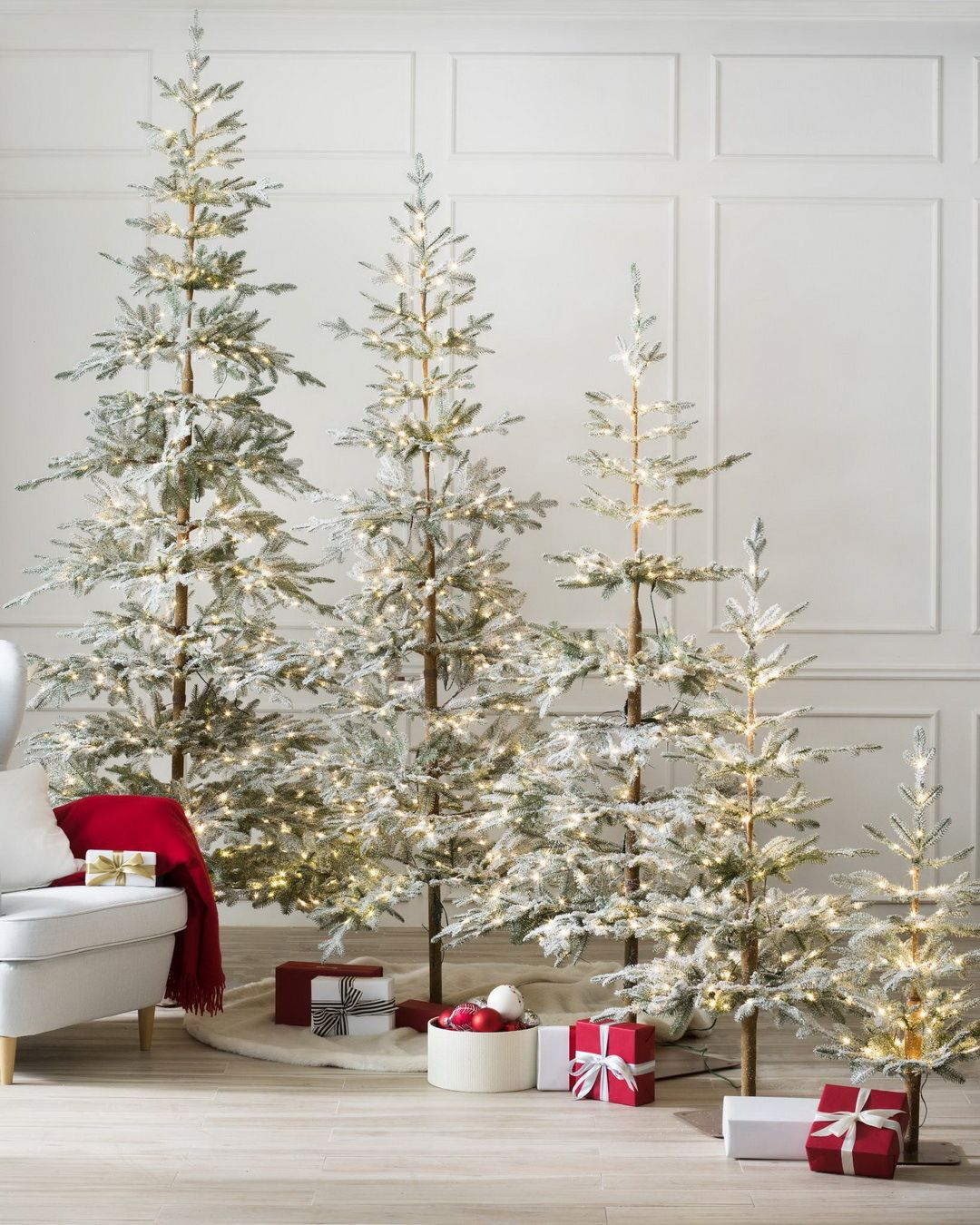 Add The Splendor Of Winter Woodlands To Your Living Room With Our Frosted Alpine Bal Balsam Hill Christmas Tree Artificial Christmas Tree Christmas Decorations