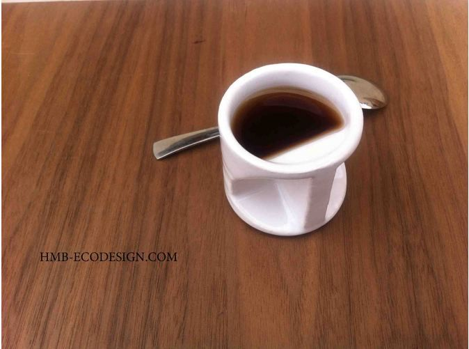 Expresso Coffee Cup Father S Day By Hmbecodesign On Shapeways Expresso Coffee Coffee Cups Coffee Pot Cleaning