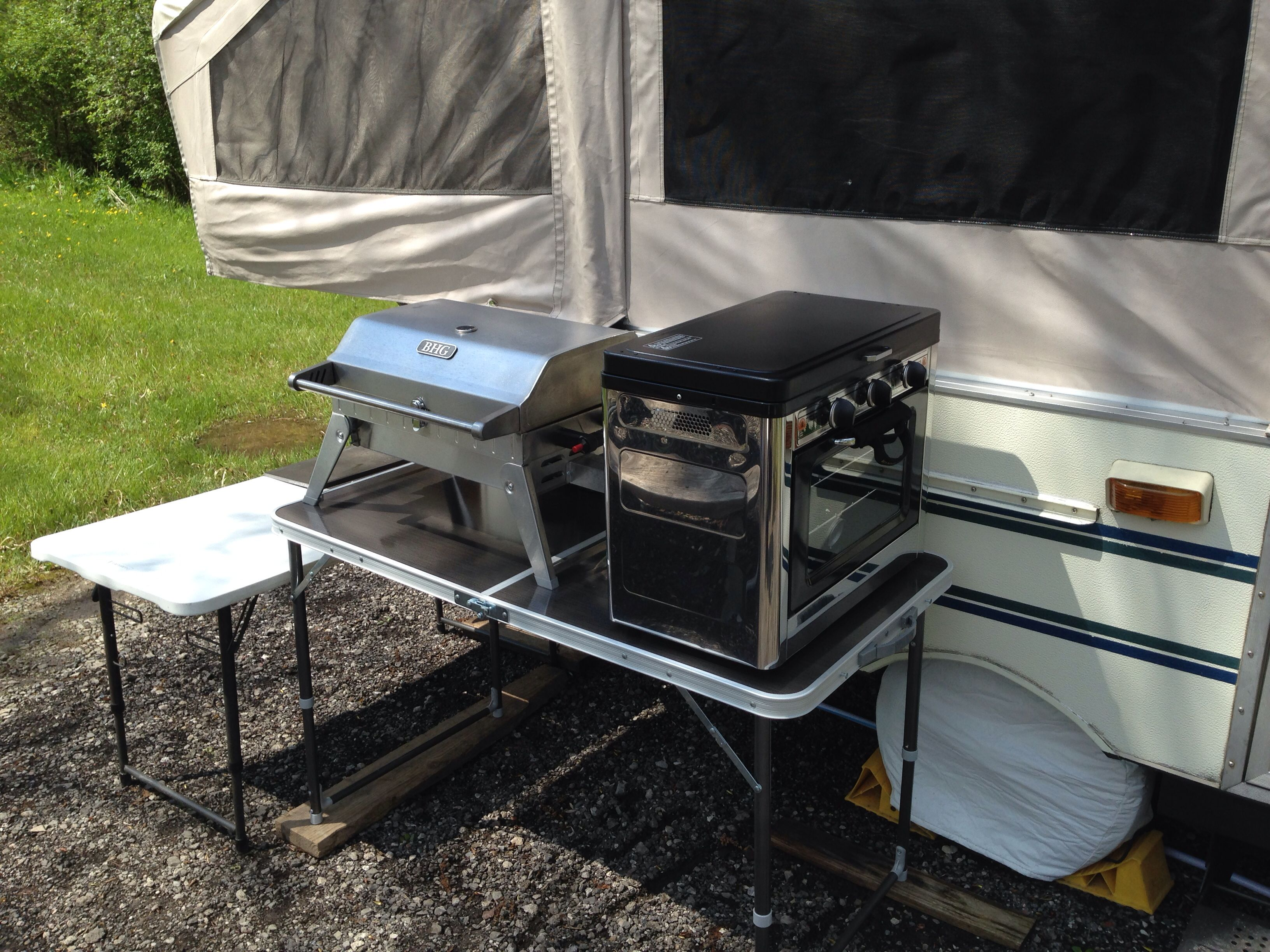 Not a bad setup for a popup outside kitchen. The Grill is $69 from ...