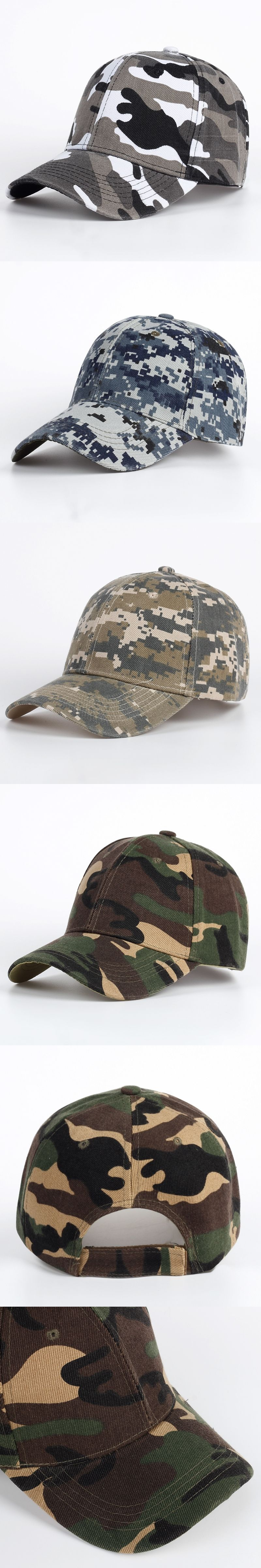 5456384e880 TUNICA Brand 100% cotton Fitted Hat Baseball Cap Casual Army Camouflage  Outdoor Sports Snapback Gorras