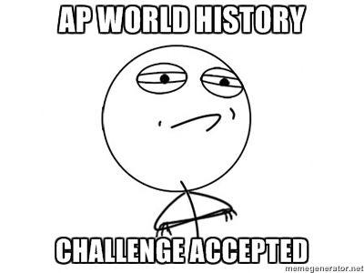 AP WORLD HISTORY kinda desperate?