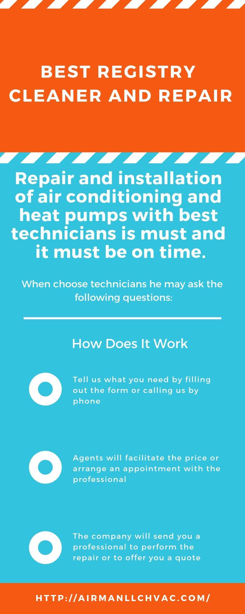 Best Registry Cleaner and Repair Heat pump, Repair, Duct
