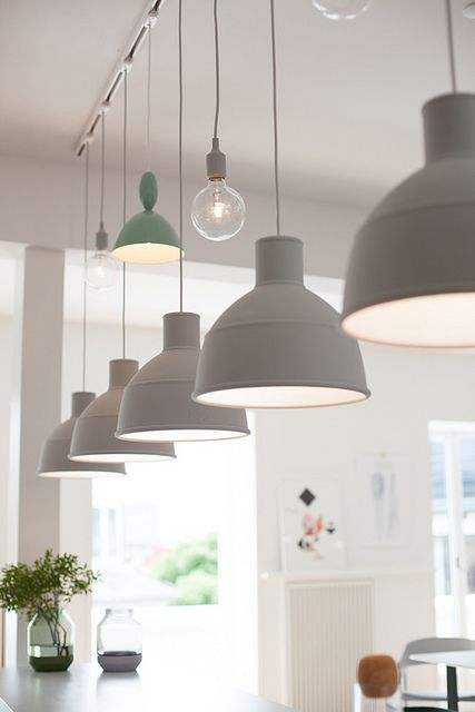 My Visit To Muuto In Copenhagen Decor8 Track Lighting Pendants Pendant Track Lighting Kitchen Ceiling Lights