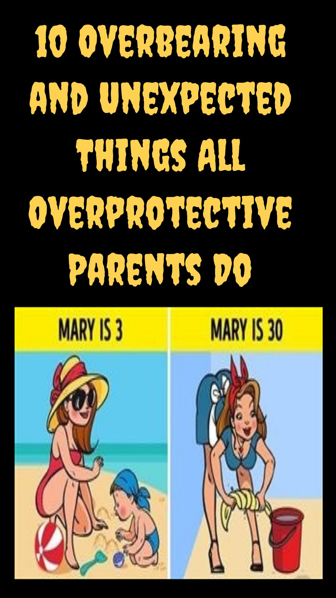 Dealing With Overprotective Parents