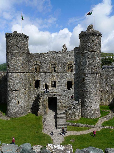 Castillo de Harlech - Snowdonia, Gales