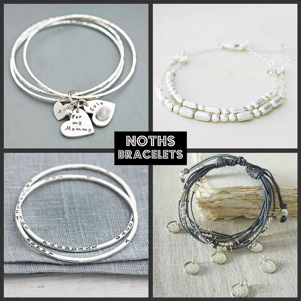 NOTHS Personalised Bracelets with delivery in time for Christmas | Notonthehighstreet | Riding the Stork, a UK mummy and baby blog    http://www.ridingthestork.com/blog/2012/11/30/top-personalised-gifts-with-delivery-in-time-for-christmas/#